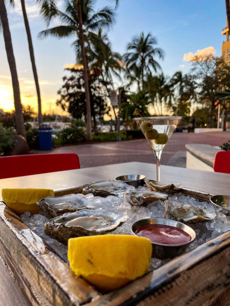 Shaken, Not Stirred - Rivertail Fort Lauderdale - Martini Bar