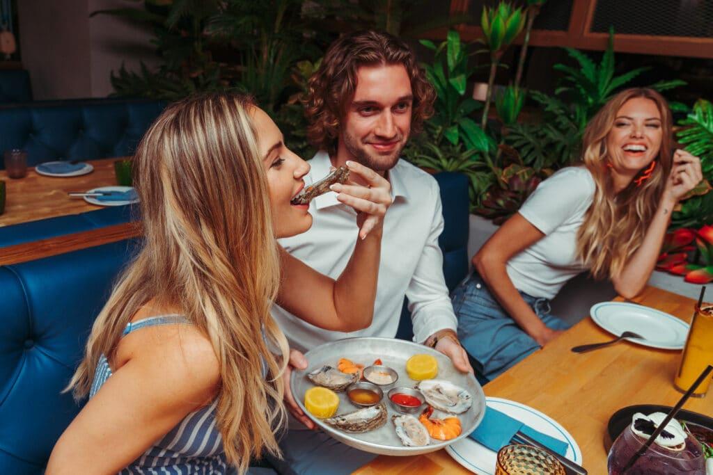 Get Reel Happy - Seafood Happy Hour Rivertail